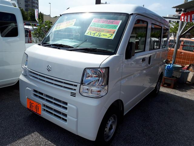 沖縄の中古車 スズキ エブリイ 車両価格 107万円 リ済込 新車  ホワイト