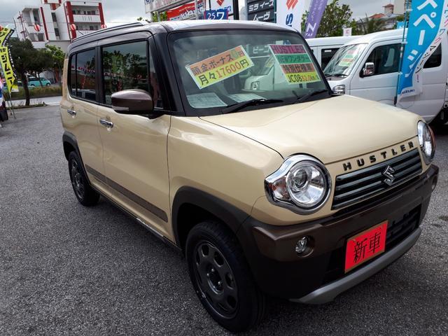 沖縄の中古車 スズキ ハスラー 車両価格 160万円 リ済込 新車  ツートン