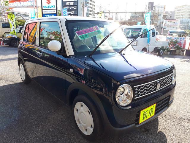 沖縄の中古車 スズキ アルトラパン 車両価格 137万円 リ済込 新車  紺II