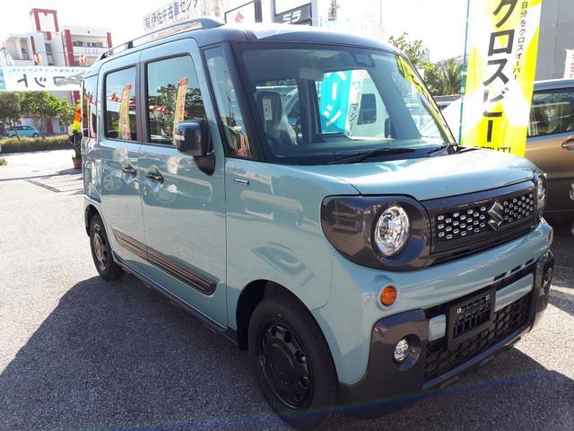 沖縄の中古車 スズキ スペーシアギア 車両価格 173万円 リ済込 新車  LグリーンM
