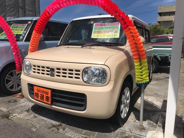 沖縄の中古車 スズキ アルトラパン 車両価格 59万円 リ済込 2012(平成24)年 8.6万km ベージュII