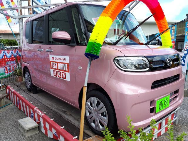 沖縄の中古車 ダイハツ タント 車両価格 148.9万円 リ済込 新車  ピンクM