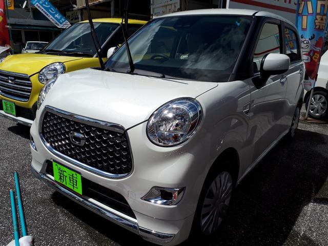 沖縄の中古車 ダイハツ キャスト 車両価格 129万円 リ済込 新車  パール