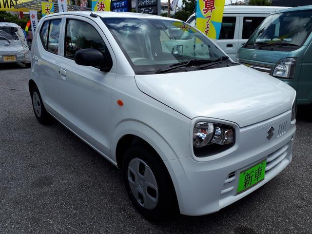 沖縄の中古車 スズキ アルト 車両価格 95万円 リ済込 新車  ホワイト