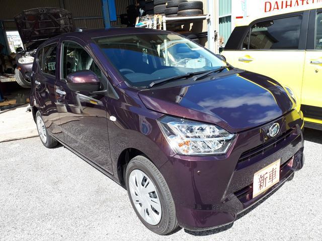 沖縄の中古車 ダイハツ ミライース 車両価格 109万円 リ済込 新車  ブラウンM