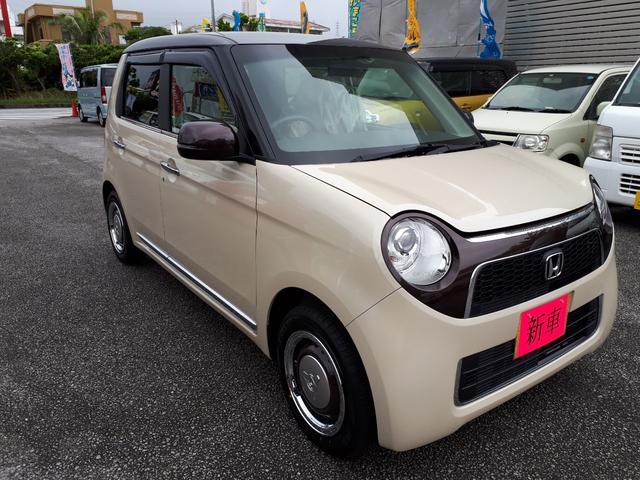 沖縄の中古車 ホンダ N-ONE 車両価格 157万円 リ済込 新車  ブラウンII