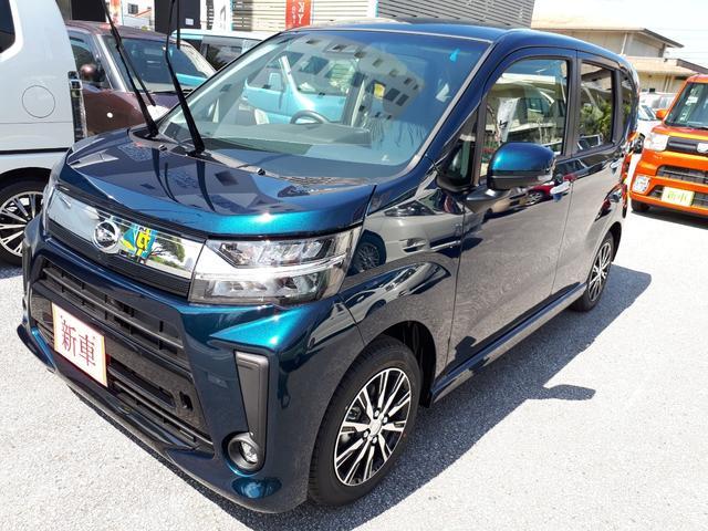 沖縄の中古車 ダイハツ ムーヴ 車両価格 151万円 リ済込 新車  紺M