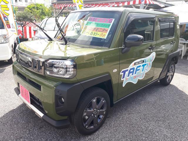 沖縄の中古車 ダイハツ タフト 車両価格 148万円 リ済込 新車  グリーンM