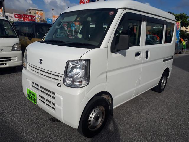 沖縄の中古車 スズキ エブリイ 車両価格 65万円 リ済込 2015(平成27)年 8.5万km ホワイト