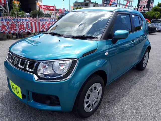 沖縄の中古車 スズキ イグニス 車両価格 152万円 リ済込 新車  ブルーM