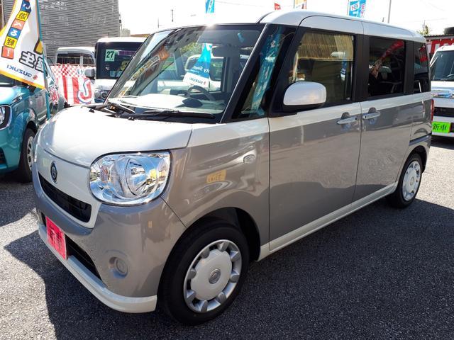 沖縄の中古車 ダイハツ ムーヴキャンバス 車両価格 143万円 リ済込 新車  グレーII