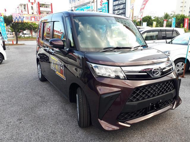 沖縄の中古車 ダイハツ トール 車両価格 174万円 リ済込 新車  プラムブラウンクリスタルマイカ