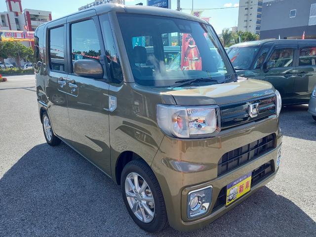 沖縄の中古車 ダイハツ ウェイク 車両価格 158万円 リ済込 新車  オフビートカーキメタリック