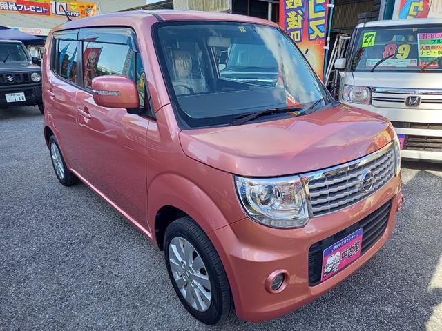 沖縄の中古車 日産 モコ 車両価格 59万円 リ済込 2013(平成25)年 9.8万km モコピーチPM