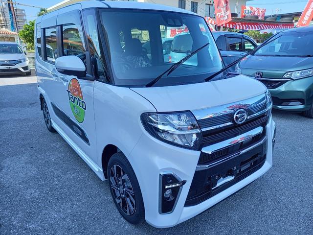沖縄の中古車 ダイハツ タント 車両価格 174万円 リ済込 新車  パールM