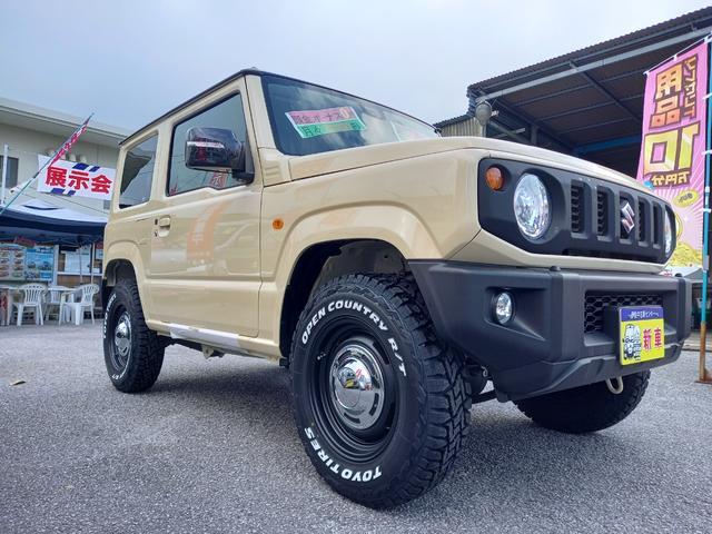 沖縄の中古車 スズキ ジムニー 車両価格 192万円 リ済込 2021(令和3)年 3km イエローII
