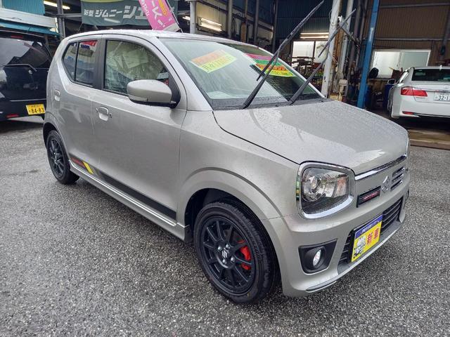 沖縄の中古車 スズキ アルトワークス 車両価格 155万円 リ済込 新車  ガンM