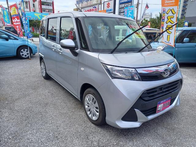 沖縄の中古車 ダイハツ トール 車両価格 103万円 リ済込 2017(平成29)年 3.8万km グレーM