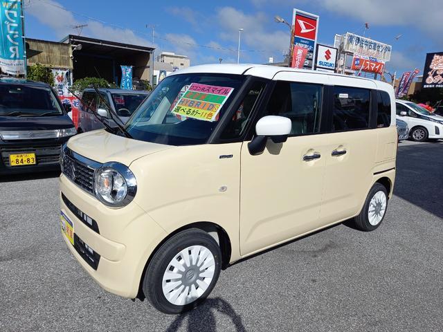 沖縄県の中古車ならワゴンRスマイル ハイブリッドS 純正9インチモニター2ト—ンルーフ