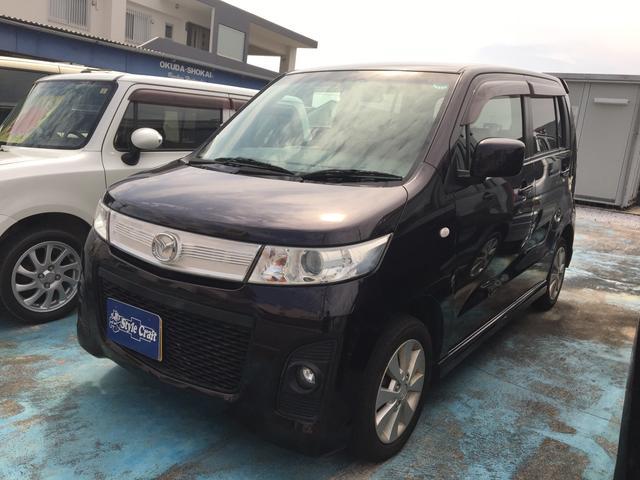 沖縄の中古車 マツダ AZワゴン 車両価格 36万円 リ済込 平成23年 11.2万km パープル