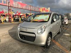 沖縄の中古車 スズキ アルト 車両価格 31万円 リ済込 平成24年 8.6万K シルバー