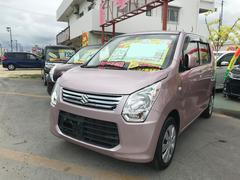 沖縄の中古車 スズキ ワゴンR 車両価格 54万円 リ済込 平成24年 6.4万K ピンク