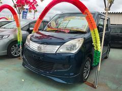 沖縄の中古車 スズキ ソリオ 車両価格 52万円 リ済込 平成23年 7.0万K ダークブルー