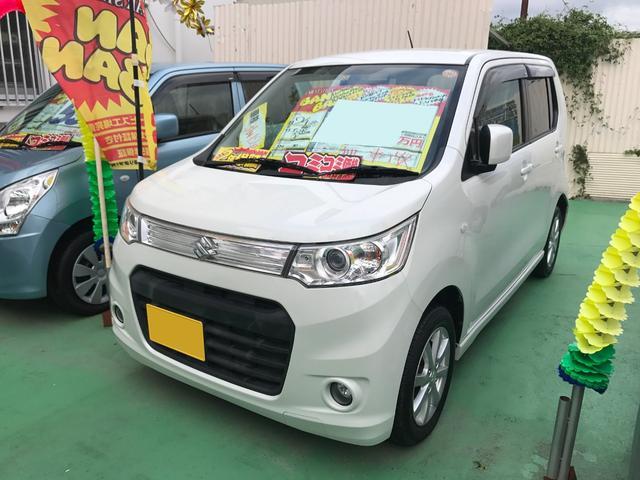 沖縄の中古車 スズキ ワゴンRスティングレー 車両価格 59万円 リ済込 平成24年 8.3万km パール