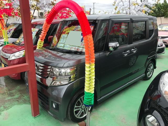 N-BOXカスタム:沖縄県中古車の新着情報