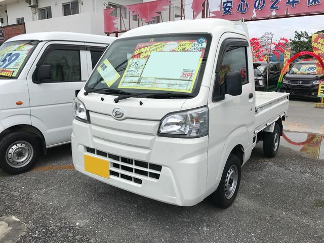 沖縄の中古車 ダイハツ ハイゼットトラック 車両価格 71万円 リ済込 2016(平成28)年 2.2万km ホワイト