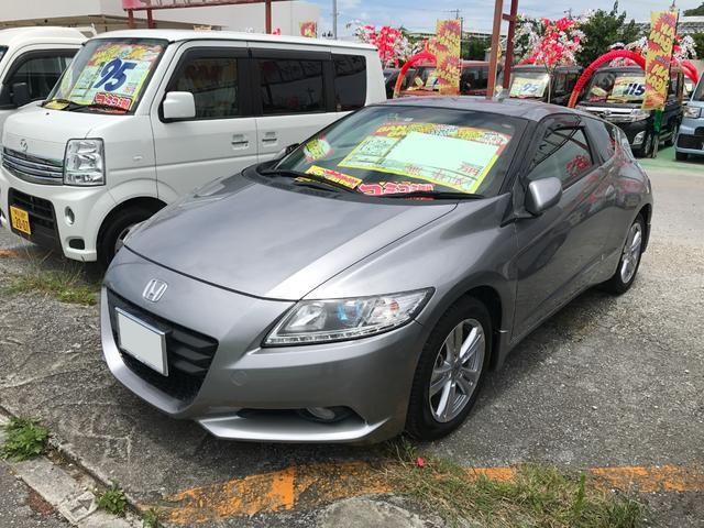 沖縄の中古車 ホンダ CR-Z 車両価格 60万円 リ済込 2010(平成22)年 9.0万km グレー