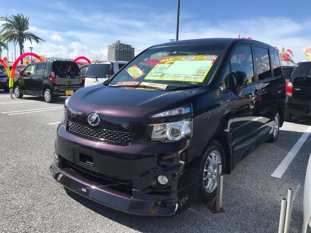 沖縄県の中古車ならヴォクシー ZS フルセグナビ