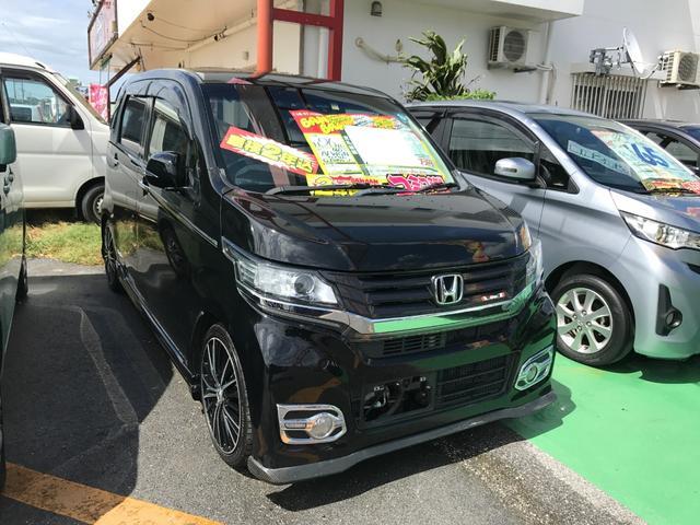 沖縄県の中古車ならN-WGNカスタム G・Aパッケージ フルセグHDDナビ