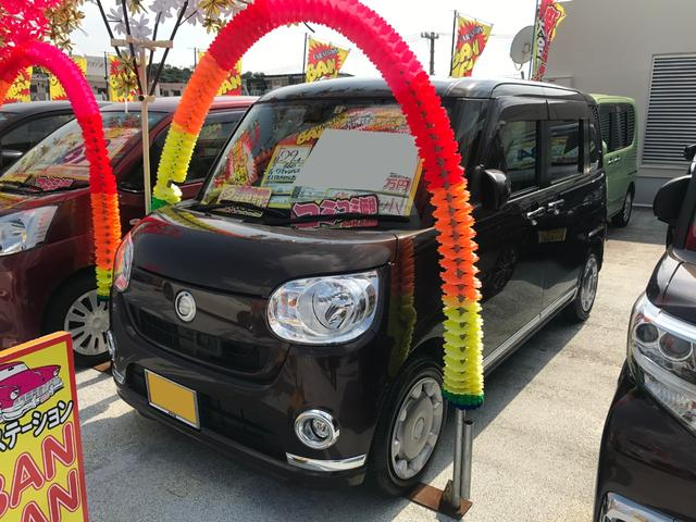 沖縄県の中古車ならムーヴキャンバス Xリミテッドメイクアップ SAII アラウンドビューモニター