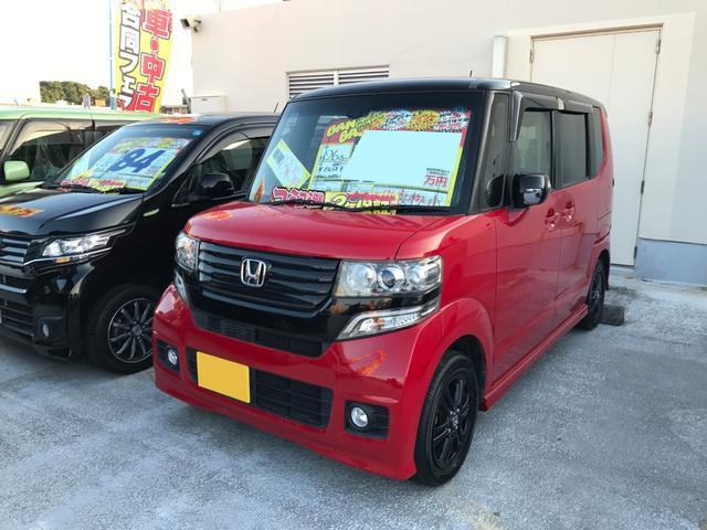 沖縄県の中古車ならN-BOX+カスタム G・Aパッケージ ワンセグナビ