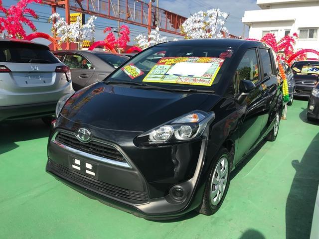 沖縄県の中古車ならシエンタ X ワンセグナビ バックモニター