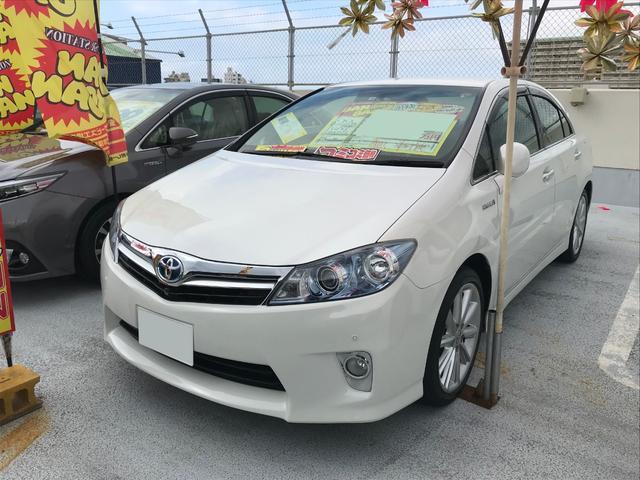 沖縄県の中古車ならSAI S フルセグHDDナビ バックモニター