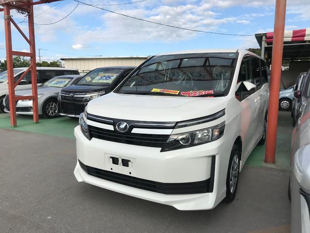 沖縄県豊見城市の中古車ならヴォクシー X ワンセグナビ ブルートゥース