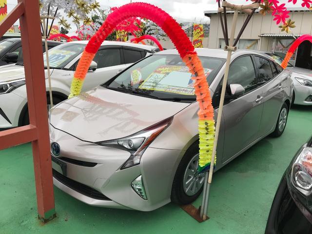 沖縄県の中古車ならプリウス S ワンセグナビ バックモニター