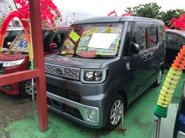 沖縄県の中古車ならウェイク Xターボ フルセグナビ