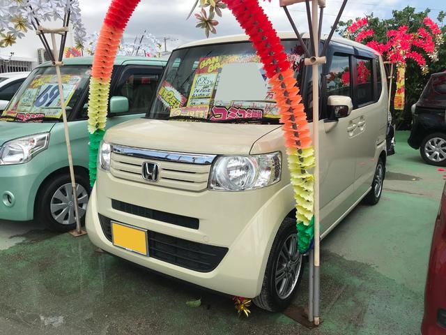 沖縄県豊見城市の中古車ならN-BOX G・Lパッケージ