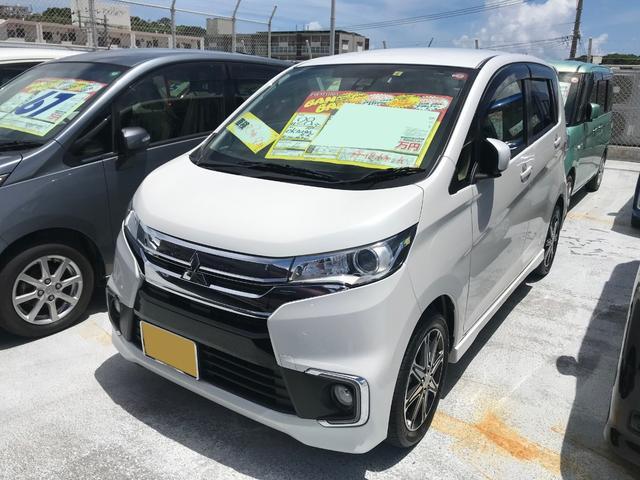 沖縄県の中古車ならeKカスタム ターボ セーフティパッケージ