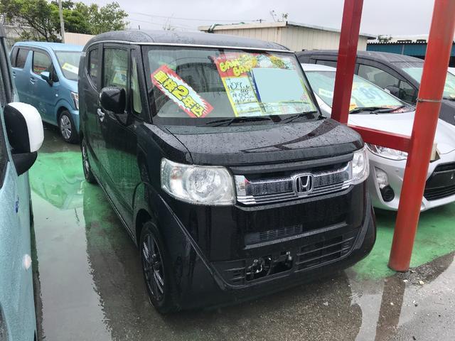 沖縄県の中古車ならN-BOXスラッシュ G ナビ アイドリングストップ