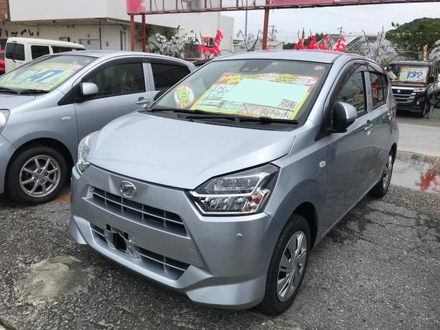 沖縄の中古車 ダイハツ ミライース 車両価格 61万円 リ済込 2017(平成29)年 5.1万km シルバー