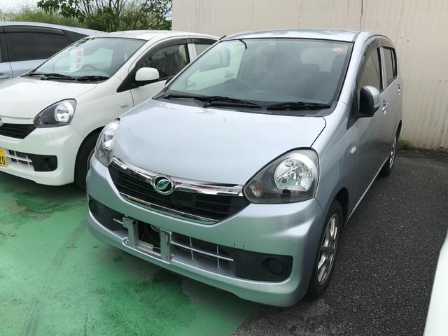 沖縄の中古車 ダイハツ ミライース 車両価格 41万円 リ済込 2015(平成27)年 7.3万km シルバー