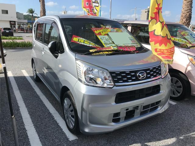 沖縄の中古車 ダイハツ ムーヴ 車両価格 51万円 リ済込 2015(平成27)年 6.6万km シルバー