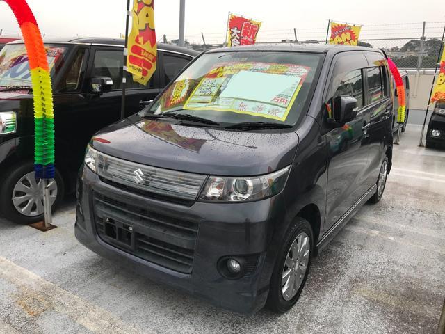 沖縄県豊見城市の中古車ならワゴンRスティングレー リミテッド HID