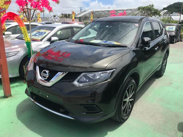 沖縄県の中古車ならエクストレイル 20S エマージェンシーブレーキパッケージ フルセグナビ バックモニター ブルートゥース