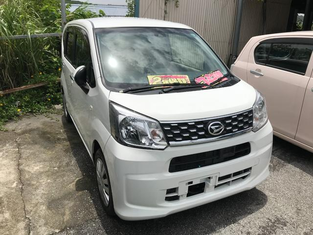 沖縄の中古車 ダイハツ ムーヴ 車両価格 51万円 リ済込 2016(平成28)年 8.2万km ホワイト