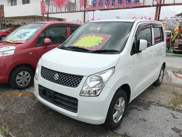 沖縄の中古車 スズキ ワゴンR 車両価格 31万円 リ済込 2012(平成24)年 7.1万km パールホワイト